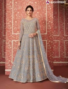 Aashirwad Wedding Designer Heavy Net Salwar Suits