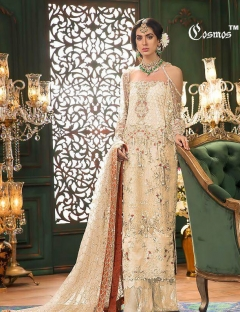 Aayra By Cosmos Embroidered Salwar Suits Catalogue