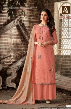 Alok Present Kashida Casual Wear Dress Material Collection