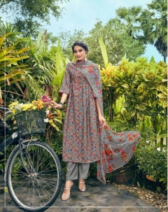 Belliza Present Grazia Casual Wear Dress Material collection