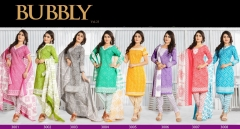 Bubbly vol 23 Printed Cotton Dress materials