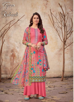 Fyra Rubaab Buy Cotton Dress Material Online in India