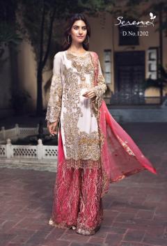 Serene Zebtan Buy Pakistani Salwar Suits in Gujarat