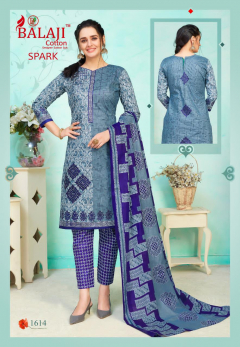 Balaji cotton Spark Vol 16 Buy Pure Cotton Dress Material Wholesale Online Surat