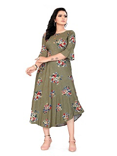 FC Dill Buy Wholesale Anarkali Kurtis Manufacturer Designer Kurtis Catalog