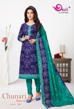 Devi Chunari Special Vol 7 Casual Wear Printed Dress Catalog
