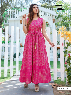 Blue Hills Sun Shine Comfortable Casual Wear Kurtis