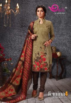 Devi Presents Femina Vol 4 Cotton Dress Material Online