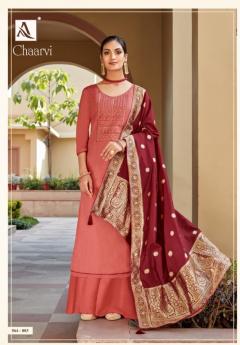 Alok Chaarvi Jam Cotton Dress Material Shop