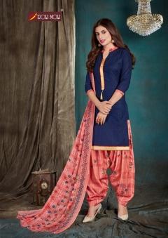 Roli Moli presents  Kohinoor  Designer Dress Material
