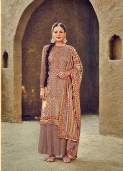 Eba presents Sartaj Designer Dress Material Collection