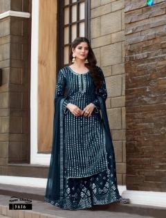Y.c  presents Galaxy  Designer  Salwar Suits