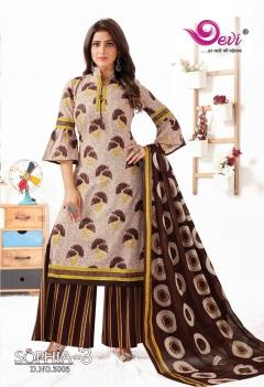 Devi  presents Sophia  vol 3 Dress Material Collection
