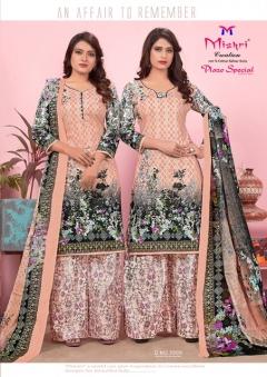 Mishri presents Plazo Special Karachi Cotton vol 5 Dress Materials Collection