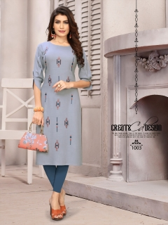 Enrich present banwery fashion  festival wear kurtis collection