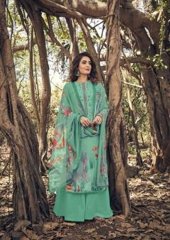 Belliza presents  Layla Ethnic Wear  Dress Materials