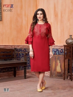 Rung presents Roxie  Ethnic Wear  Kurtis Collection