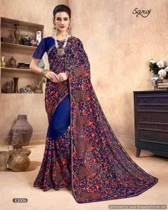 Fashion World Vol 2  By Saroj Designer Wedding Wear Georgette Saree Collection