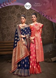 Saroj presents  Tannu Festive Wear Sarees Collection