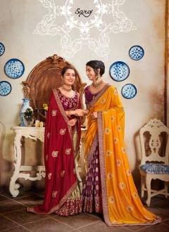 Saroj  presents Kolaveri  Festive Wear Sarees Collection