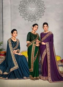 Saroj presents Miracle Festive Wear  Sarees Collection
