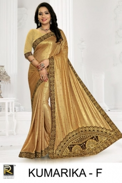 Ranjna presents kumarika Festive wear saree collection