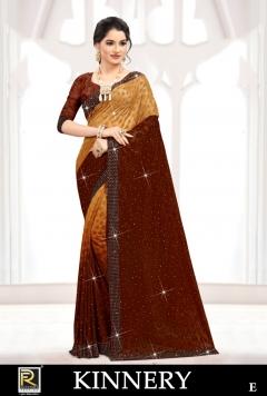 Ranjna presents  Kinnery  Festive Wear  Saree Collection