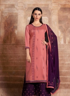 Iris By Kalarang Pure Jam Silk Cotton Dress Material Collection