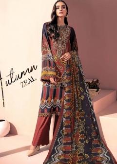 Iris vol 9 Cotton Karachi Dress Materials Collection