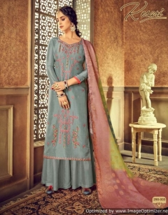 Kesari Present Alok Pure Viscose Upada Designer Dress Material