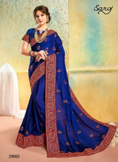 Kesariya by  Saroj Silk Designer Saree  collection