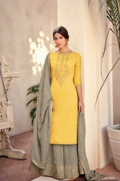 Kimora Vol 10 Pure Silk With Heavy Embroidery Salwar Suits Collection