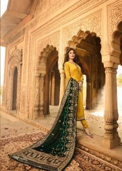 Kritika By  Fiona Heavy Dupatta  Designer Salwar Suits Catalogue