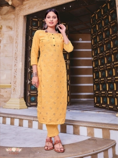 Syasii presents Rosemeen vol 1 Straight Kurti With Bottom