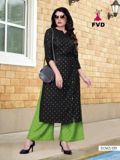 FVD presents Kites vol 1 kurti  with  bottom collection