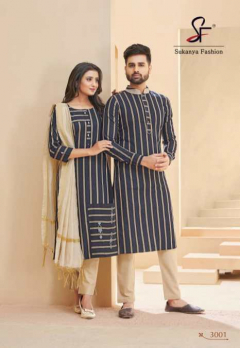 Banwary Royal Couple Vol 3 Latest Designer Combo Of Kurtas & Kurtis online