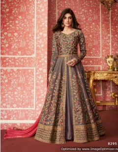 Lihaaz by Aashirwad  Designer Embroidered Silk Wedding Dress Collection