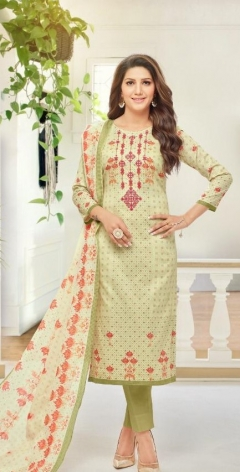 Mf Present New Dress Material Essenza Vol 19 Collection