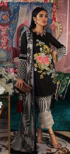 Muzlin By Sana Safina Lawn Cotton Dress Material Collection.