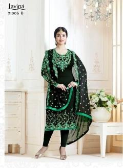 New Designer Salwar Suits Lavina 21002 A Collection