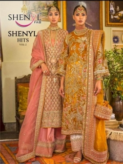 Shenyl  vol 2 Embroidery Pakistani Salwar Suits Collection