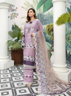 Shree Launching  Adan Libaas Schiffli Collection Pakistani Salwar Suits