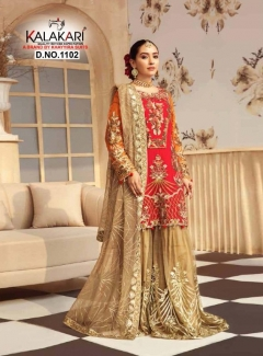 Kalakari Presents  Zeenat Pakistani Salwar Suits