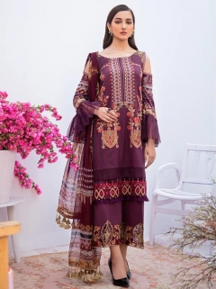 Shree  Launching Zarkash Luxury Lawn Collection vol 1 Pakistani Salwar Suits