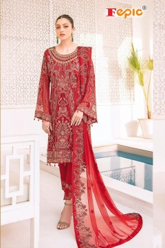 Fepic presents  Rosemeen Florence Pakistani Salwar Suits Collection