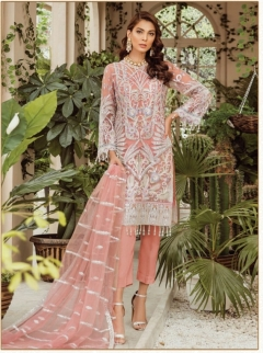 Ramsha presents  R 291 to 294 Pakistani Salwar Suits Collection
