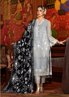 Serene presents Zarif Heavy Pakistani Salwar Suits Collection
