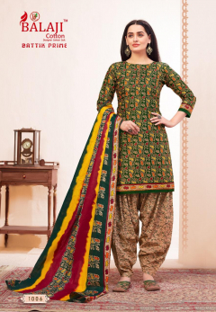 Balaji presents Batik Prime 1 Printed Dress Material