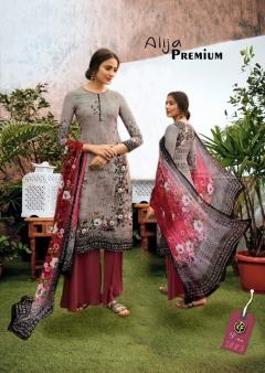 Alija Premium Luxury Printed Dress Materials