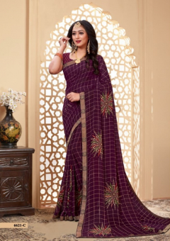 Simpola 4 Fancy Casual Wear Printed Sarees Collection